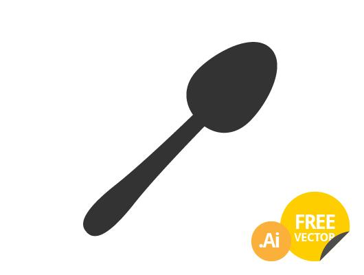 Spoon Icon (Vector)