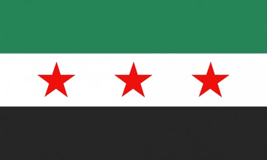 Syria Freedom Flag (Vector ai)