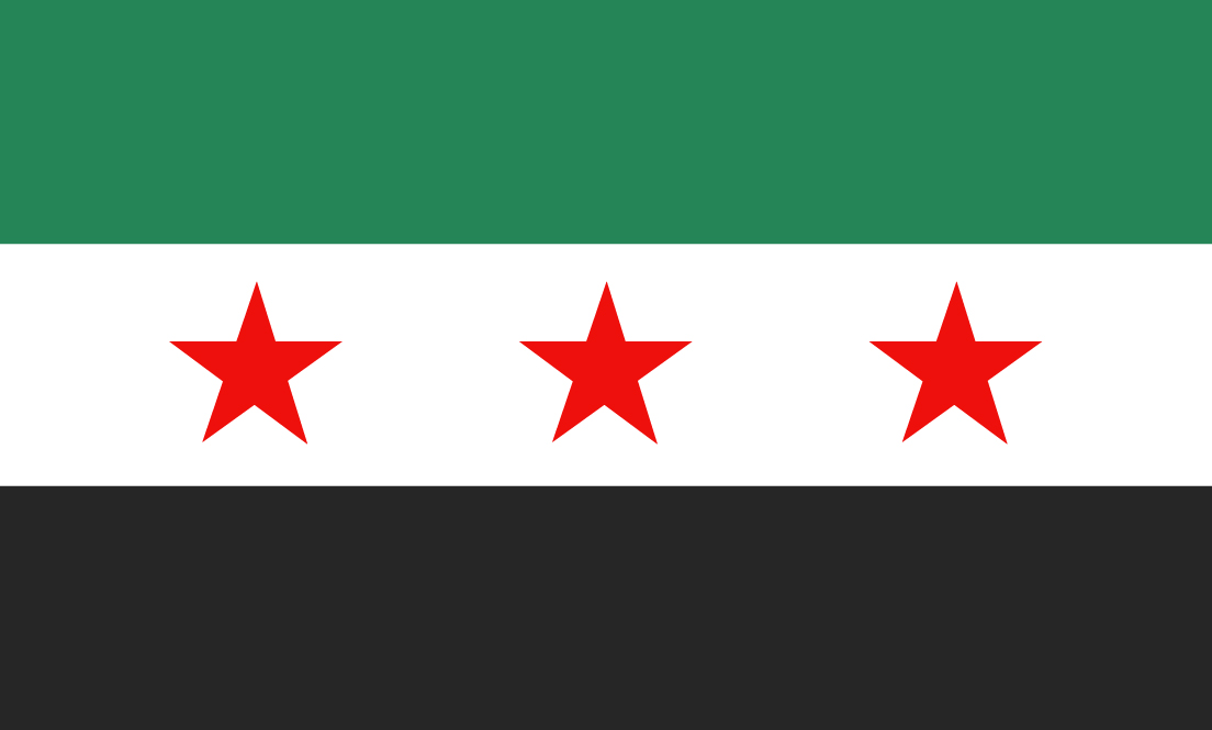 Syria Freedom Flag (Vector)
