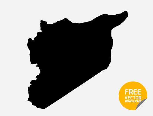 Syria Map (Vector, ai)