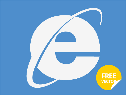 Internet Explorer Logo (Vector-2)