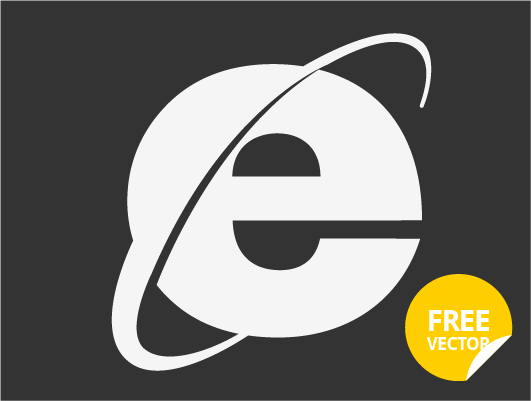 Internet Explorer Logo (Vector-3)