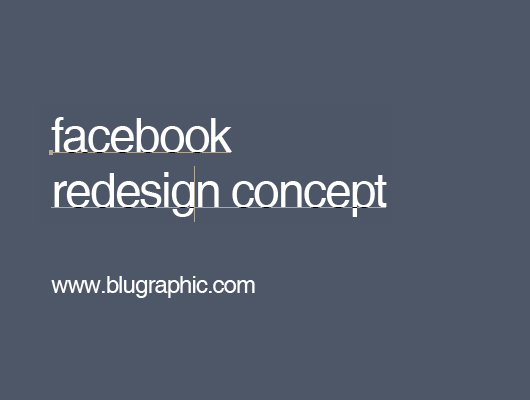 Facebook Redesign Ui Template (Psd)