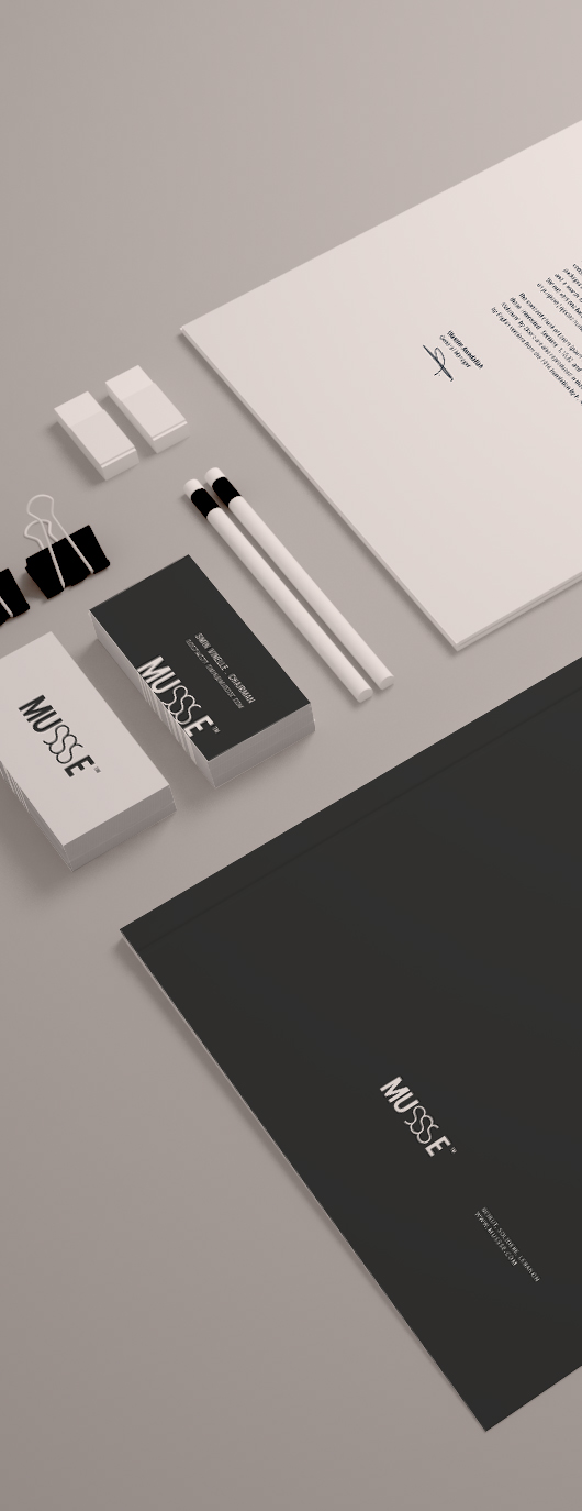 Stationary Brand Mockup Template