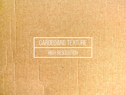 High Resolution Cardboard Texture (JPG)