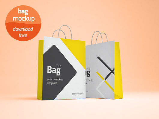 Shopping Bag Mockup (Smart Object / Psd)