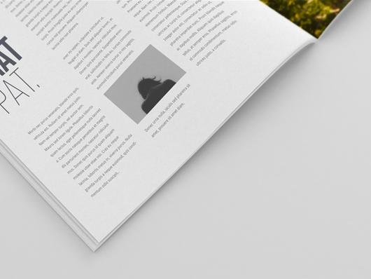 detail square magazine mockup psd