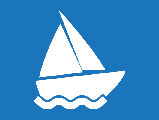 Vector Boat Icon