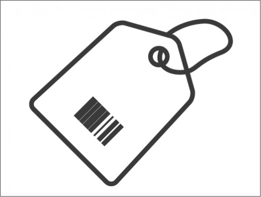 Shopping Tag Icon (Vector)