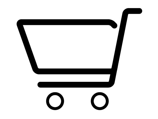 Line Shopping Cart Icon