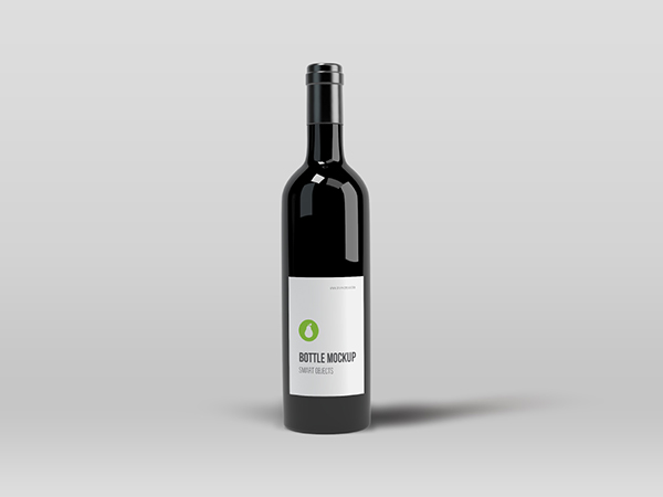 Bottle Mockup - photoshop psd