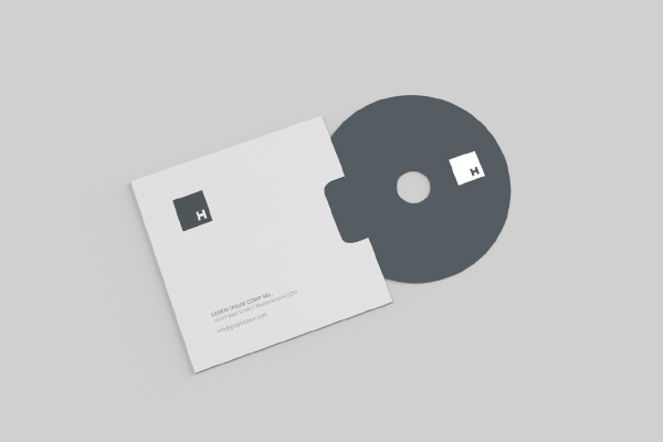 Cd Envelope Mockup