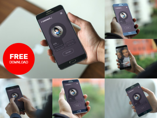 Android Device Mockups