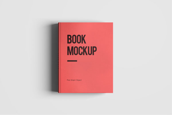 Book Cover Design Psd Free Download : Book mockup template psd