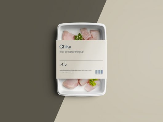 Free Psd Food Container Package Mockup