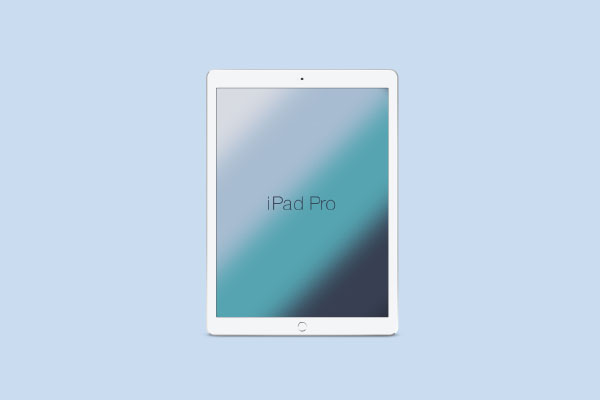 iPad Tablet Presentation Mockup