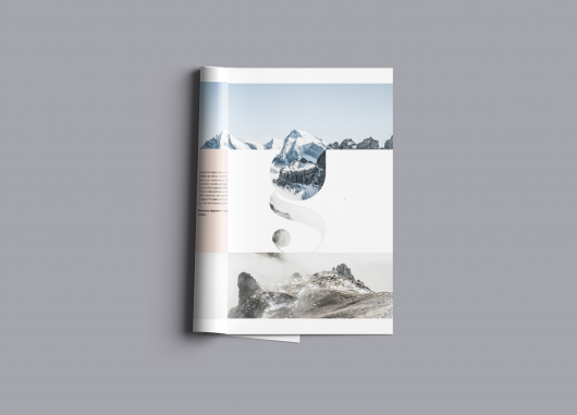 Premium A4 Brochure Mockup