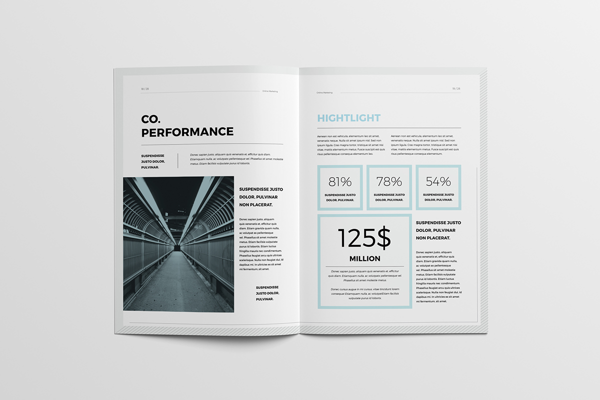 Annual Report template