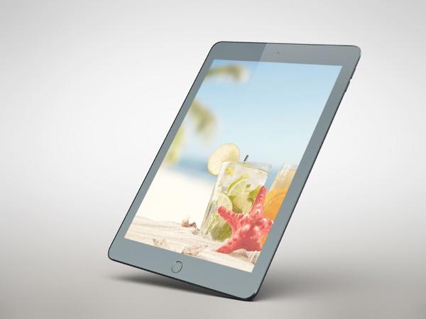 tablet perspective mockup