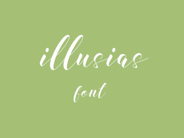 Illusias Free Font