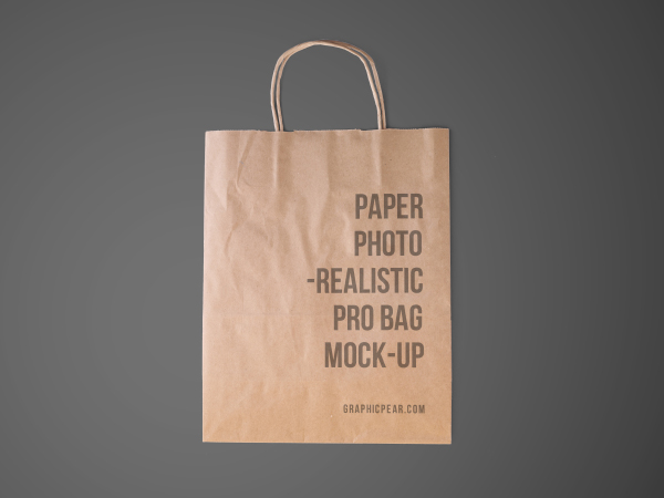 shopping bag mockup smart object psd