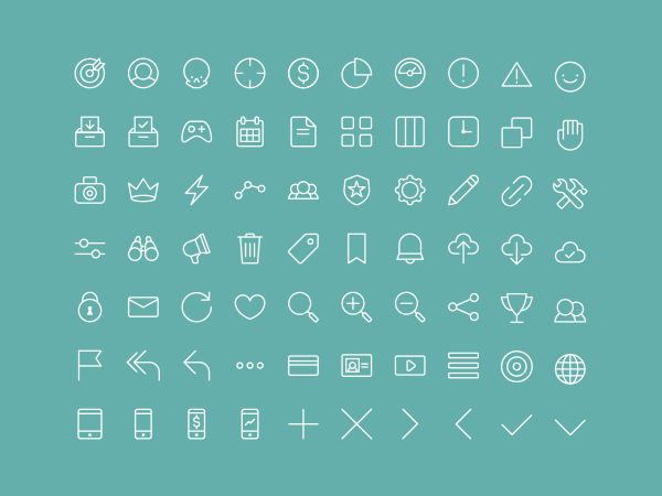 Multipurpose Line Icons