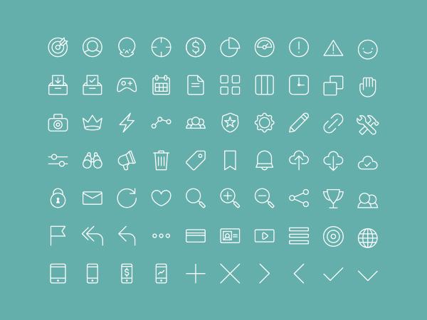 Multipurpose Line Icons