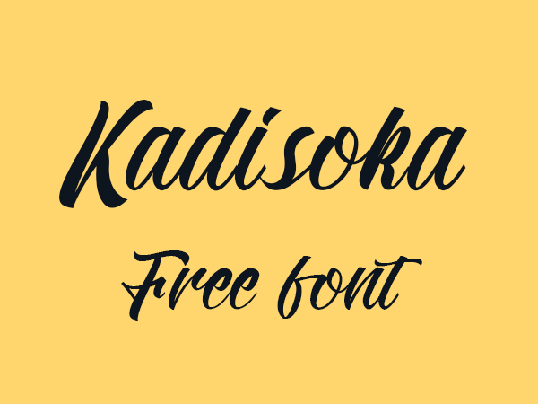 Kadisoka Free Font