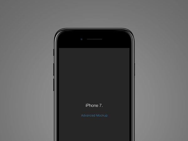 iPhone 7 Psd Mockup