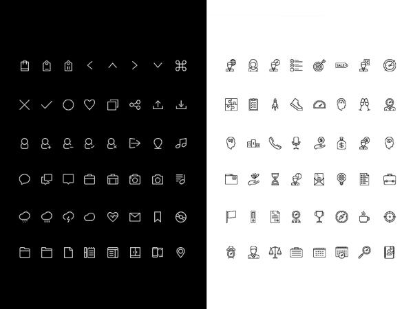 line ui icons