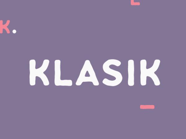 Klasik Font