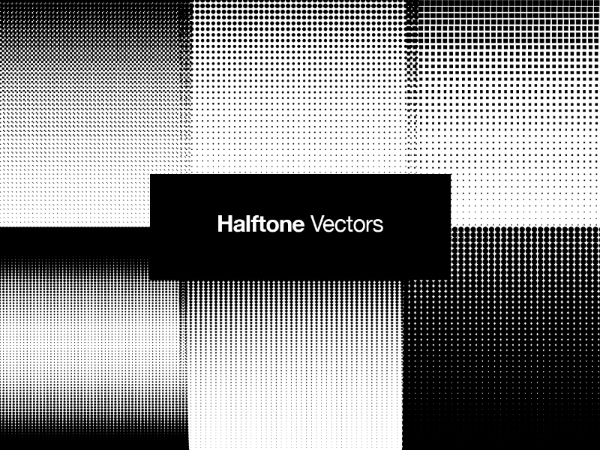 Halftone Vector Patterns
