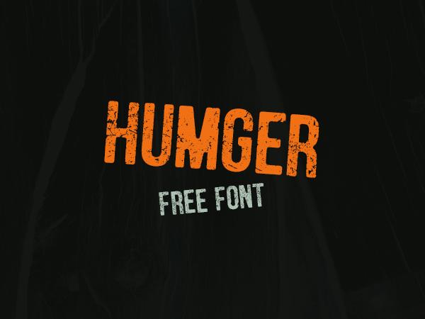 Humger Free Font