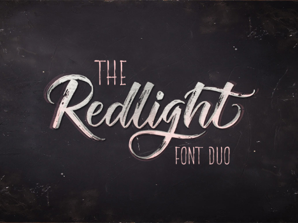 Redlight Script Font