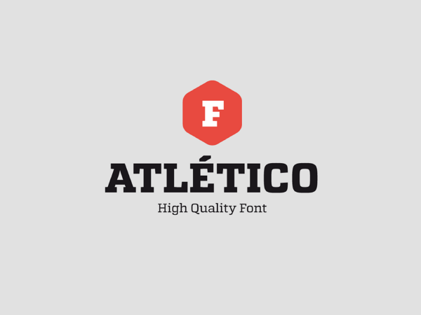 Atletico Free Font