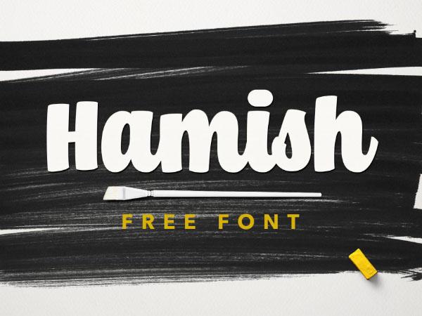 Hamish Script Font