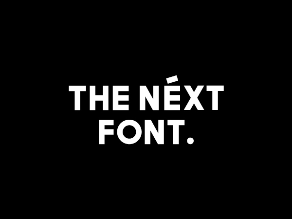The Next Sans Free Font