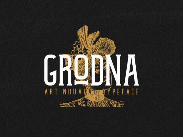 Grodna Font Download