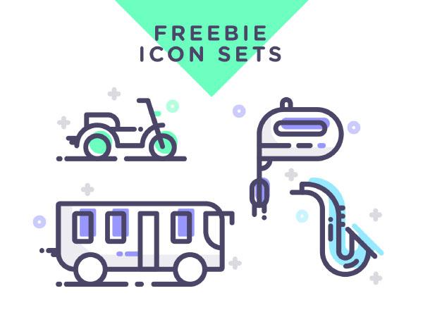 Line Multipurpose Icons Free