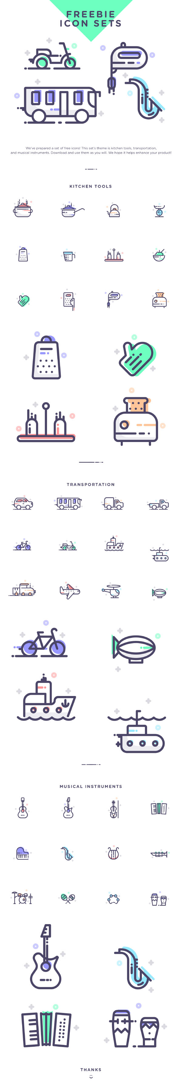 Line Multipurpose Icons Free