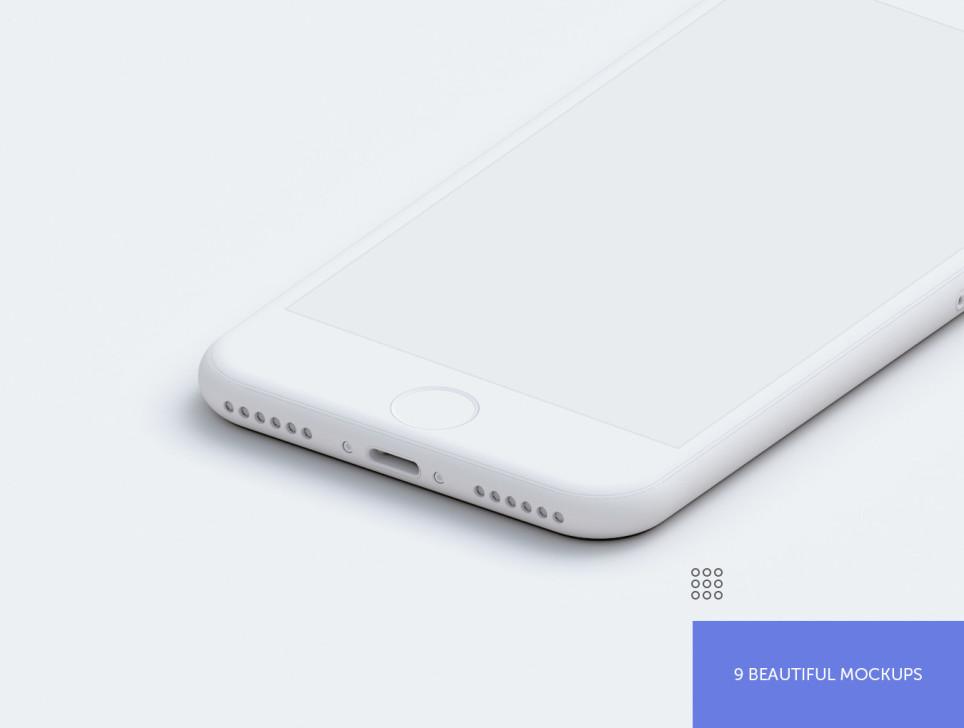 minimal iphone mockup