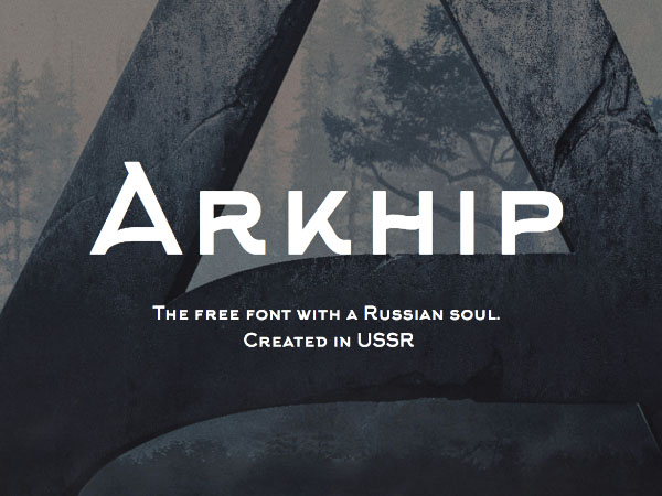 Arkhip Typeface Free Download