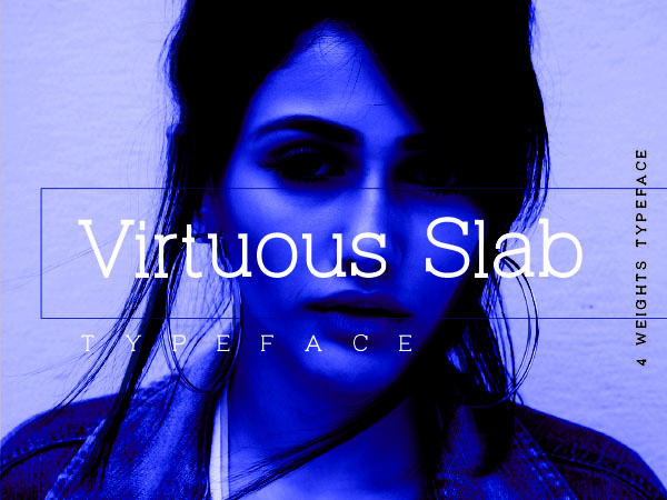 Virtuous Slab Typeface