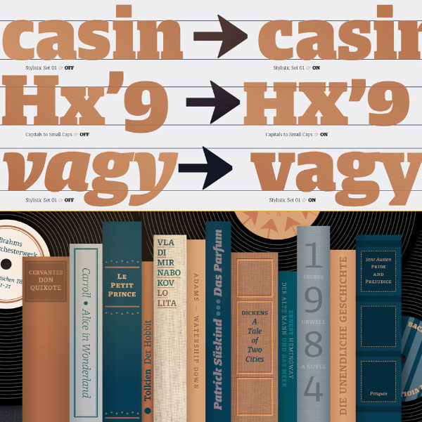 Harrison Serif Pro Font