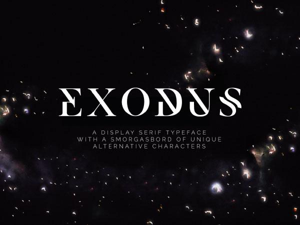 Exodus Font