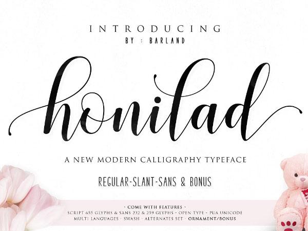 Honiland Font