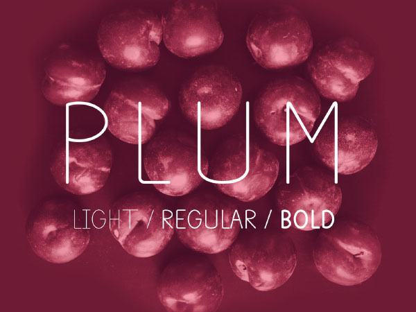 Plum Fun Free Font