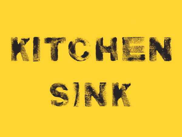 kitchen sink font