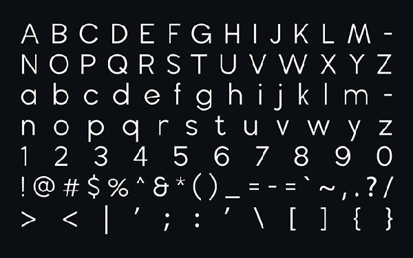 wavehaus geometric font