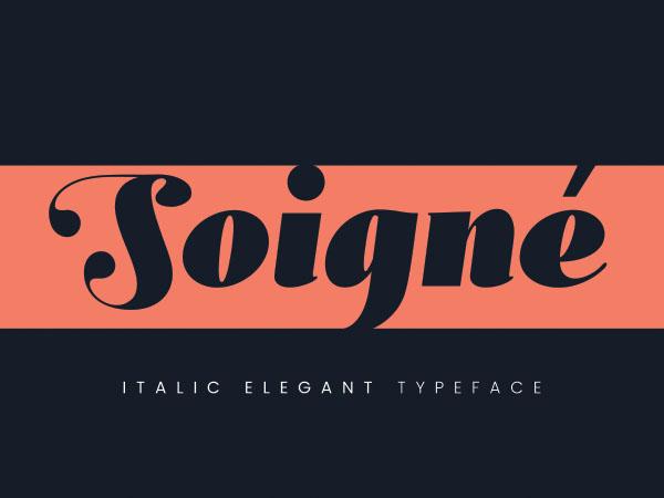 Soigne Font